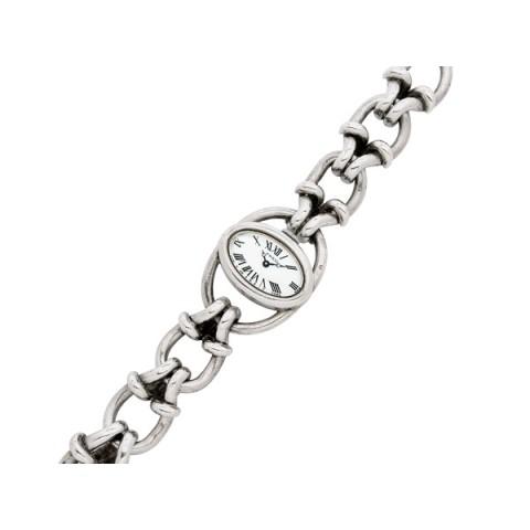 Lady's Silver Wristwatch, Fred « Dupuis Fine Jewellery